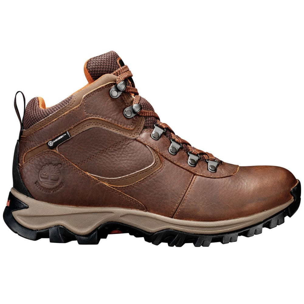 TIMBERLAND Men's Mt. Maddsen Mid Waterproof Hiking Boots - MED BROWN