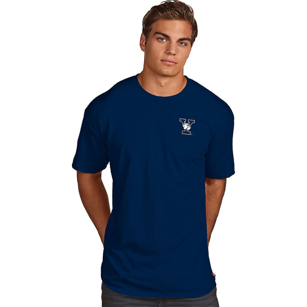 Yale Men's Superior Short-Sleeve Tee - Blue, M