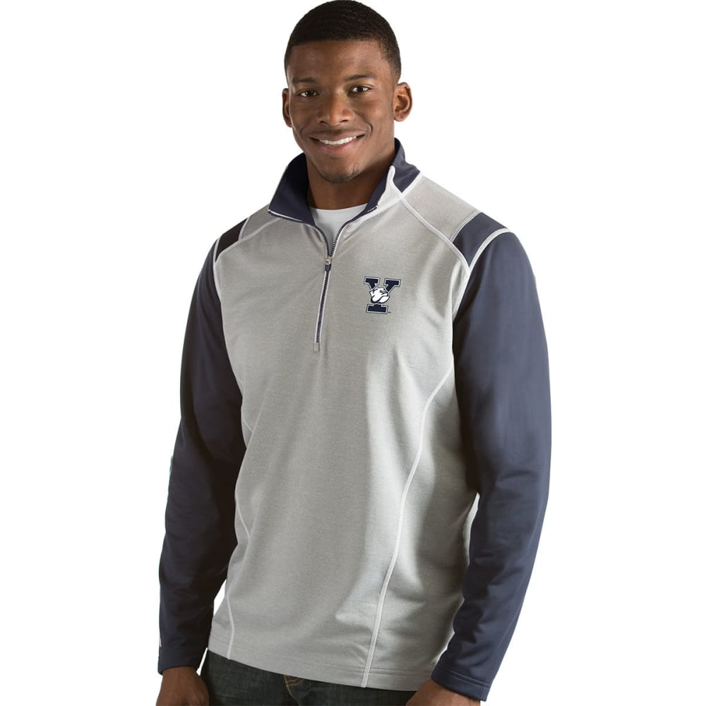 YALE Men's Automatic 1/4 Zip Long-Sleeve Pullover - NAVY
