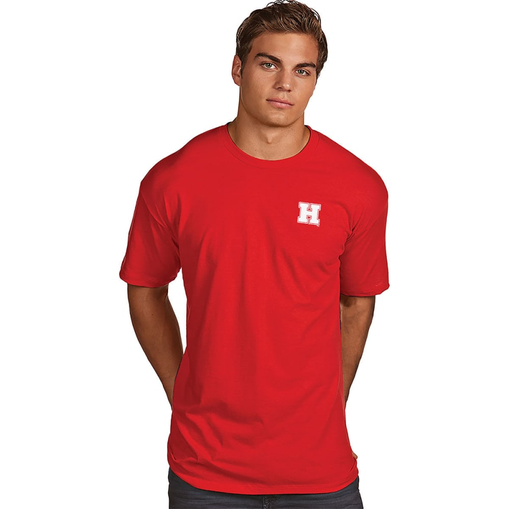 HARVARD Men's Superior Short-Sleeve Tee - RED