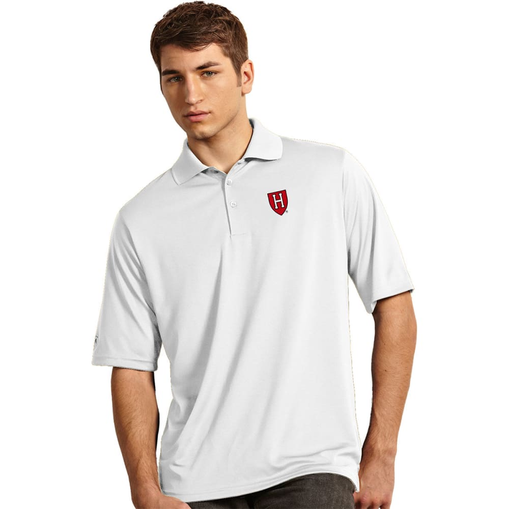 HARVARD Men's Exceed Short-Sleeve Polo Shirt - WHITE