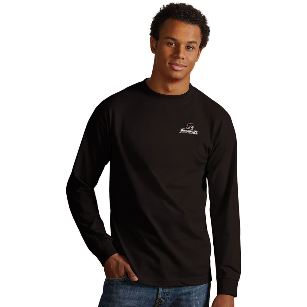 Providence College Men's Crew Long-Sleeve Tee - Black, M