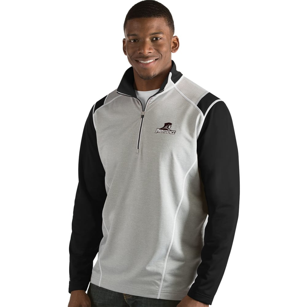 Providence College Men's Automatic  1/4-Zip Long-Sleeve Pullover - Black, M
