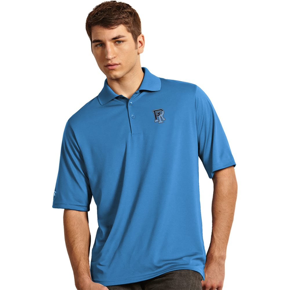 Universty Of Rhode Island Men's Exceed Polo Shirt - Blue, M