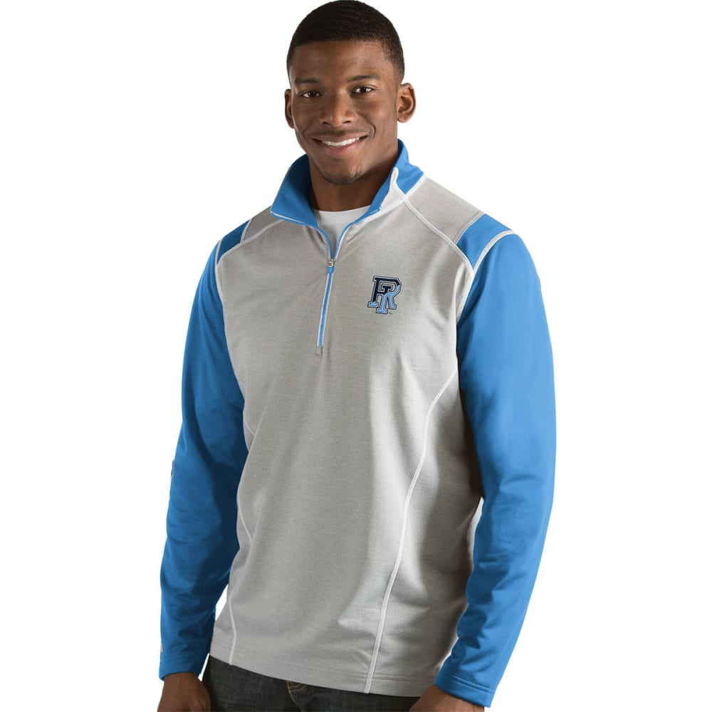 Uri Men's Automatic  1/4-Zip Long-Sleeve Pullover - Blue, M