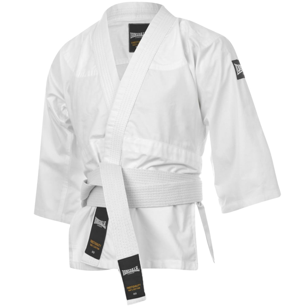 LONSDALE Youth Judo Uniform - WHITE