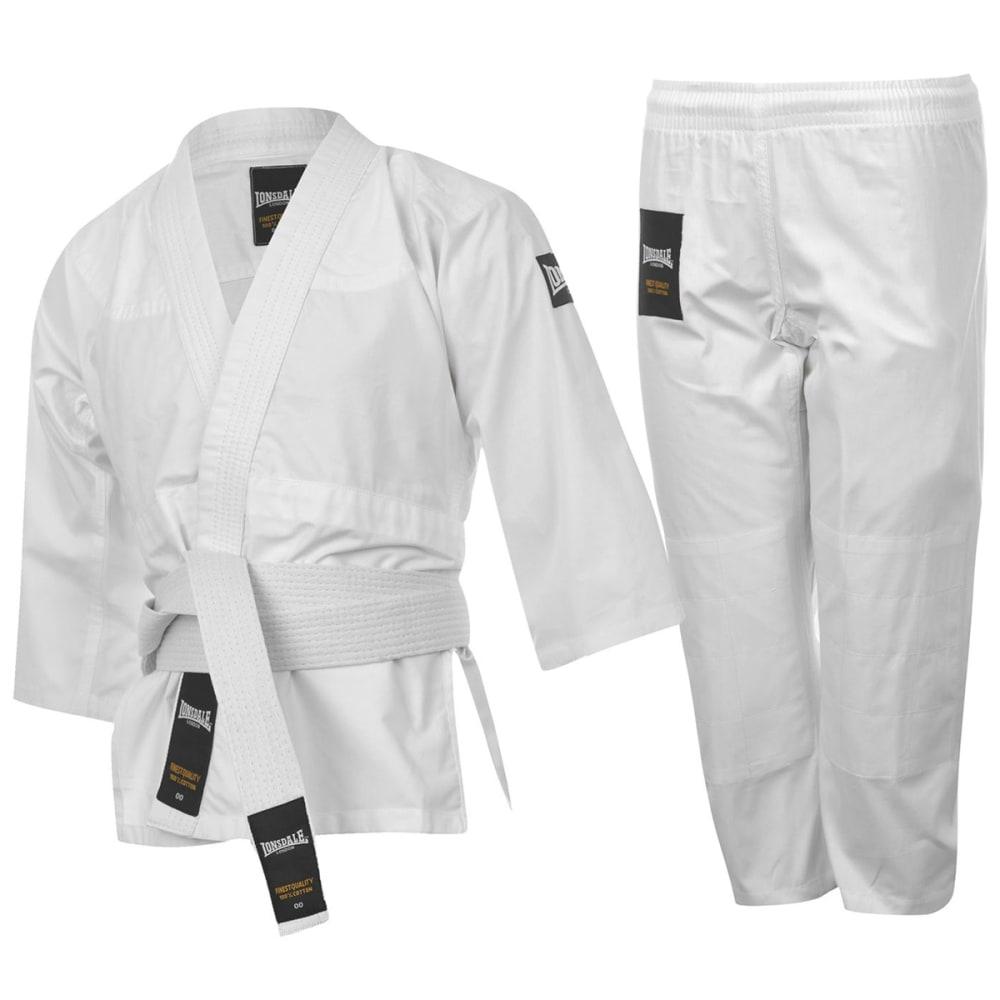 LONSDALE Youth Judo Uniform - WHITE