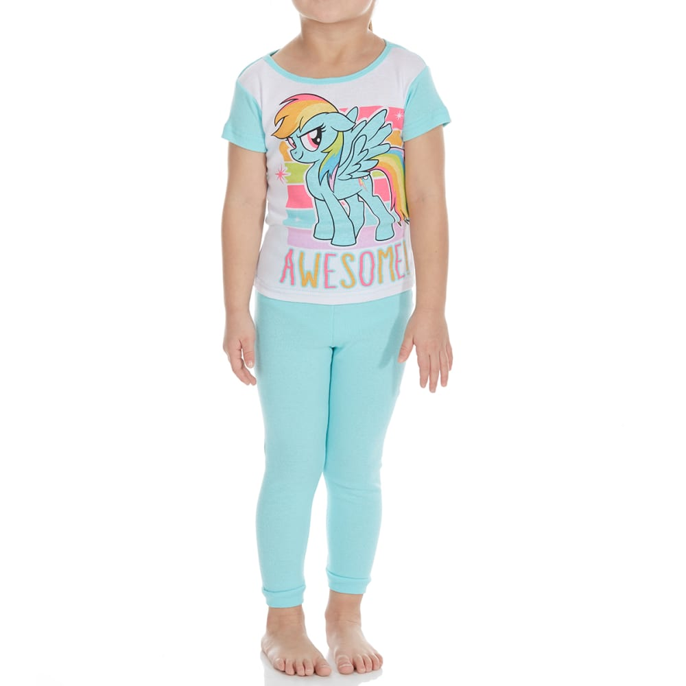 Ame Little Girls 4-Piece My Little Pony Short-Sleeve Sleep Set - Various Patterns, 4