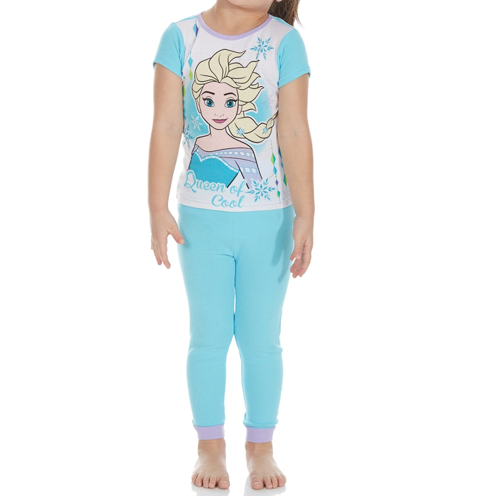 AME Little Girls' 4-Piece Frozen Short-Sleeve Sleep Set - ASSORTED