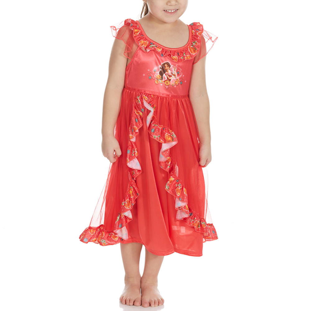 Ame Little Girls Elena Of Avalor Nightgown - Various Patterns, 4