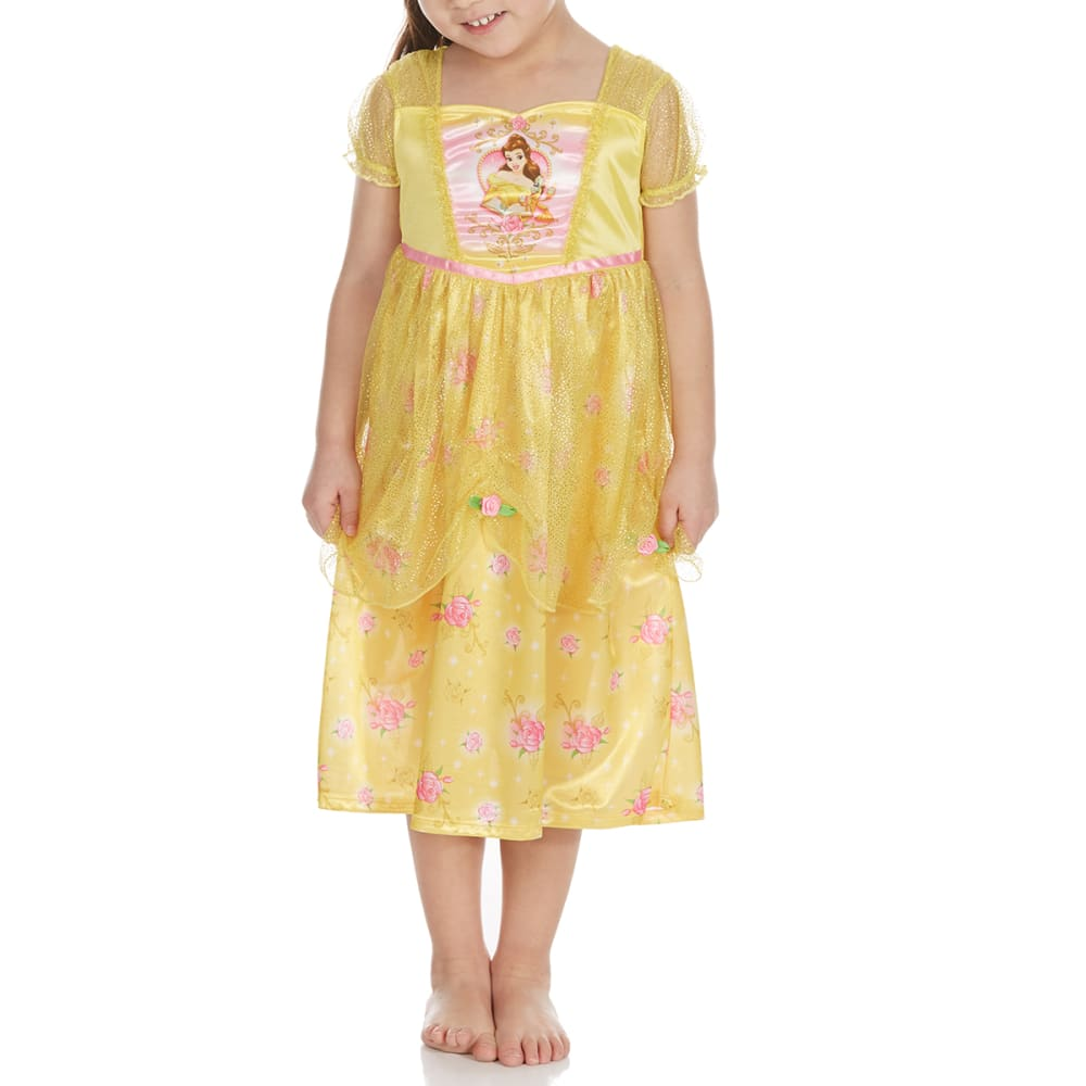 Ame Little Girls Belle Nightgown - Various Patterns, 4