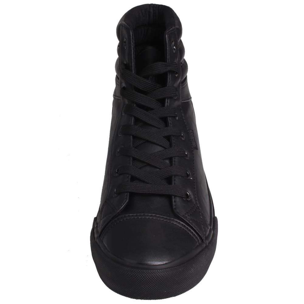 SOULCAL Men's Asti High-Top Sneakers - BLACK/BLACK