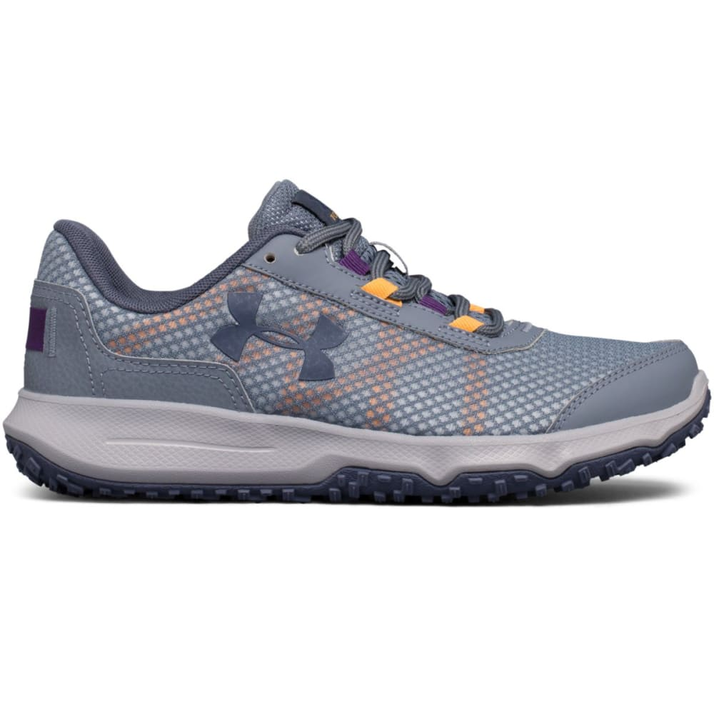 UNDER ARMOUR Women's UA Toccoa Trail Running Shoes - GRAVEL-001