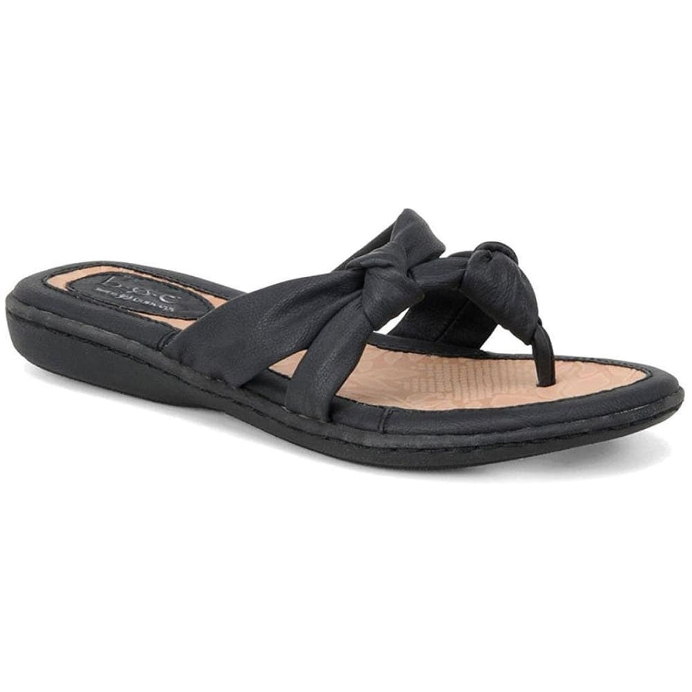302b9b56bad B.O.C. Women  39 s Sequin Thong Sandals - BLACK-C84203