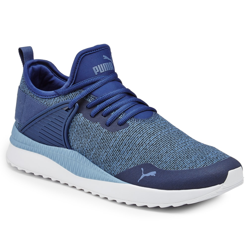 Puma Men's Next Cage Knit Running Shoes - Blue, 8.5