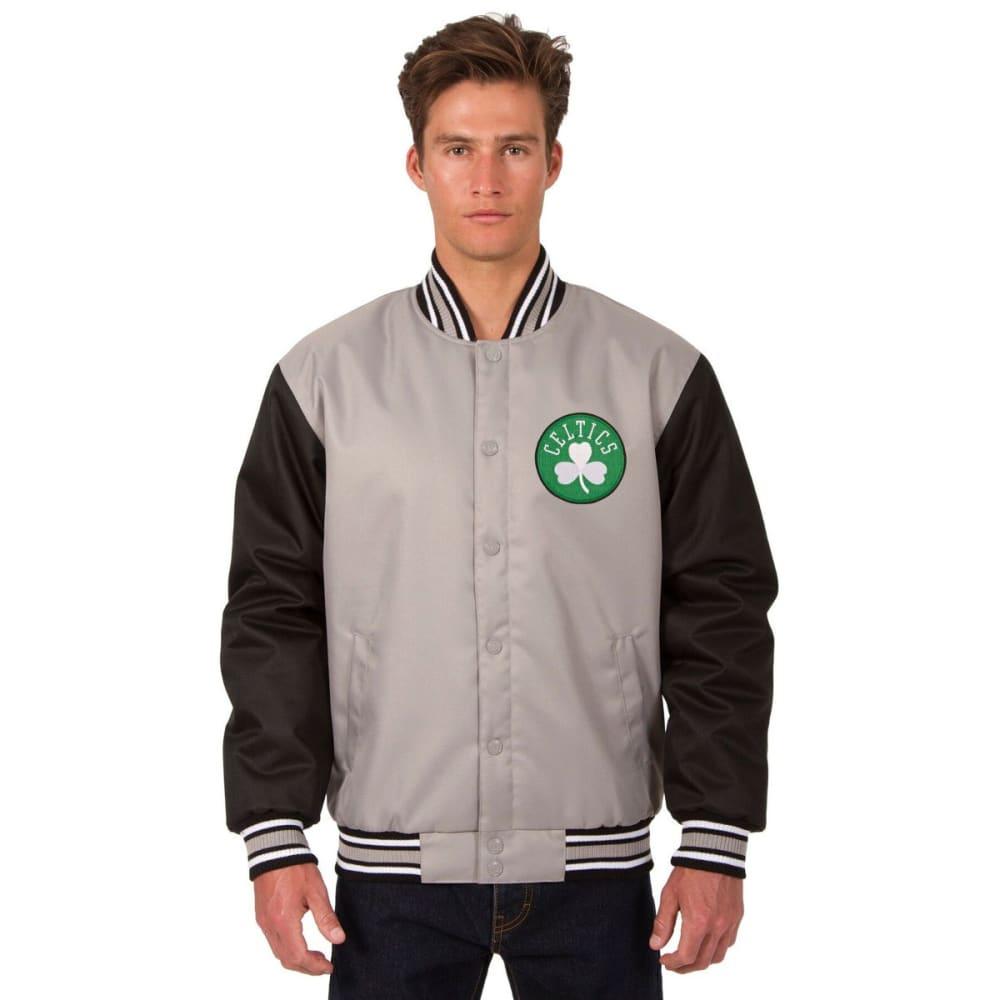 BOSTON CELTICS Men's Poly Twill Logo Jacket S