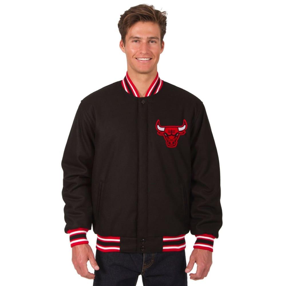 CHICAGO BULLS Men's Reversible Wool Jacket S