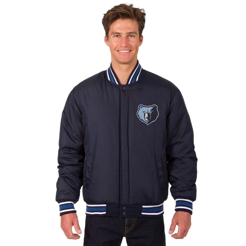 MEMPHIS GRIZZLIES Men's Reversible Wool Jacket - NAVY