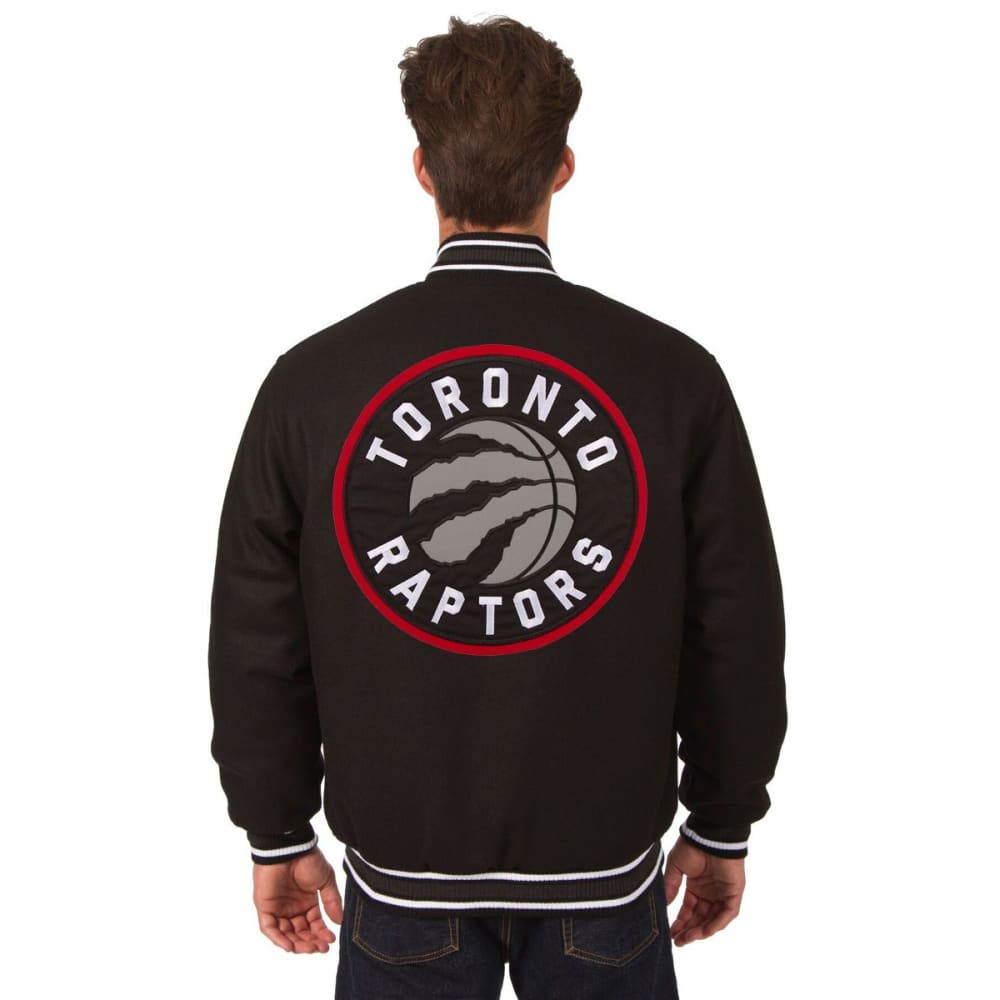 TORONTO RAPTORS Men's Reversible Wool Jacket - BLACK