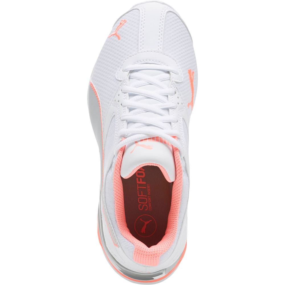 PUMA Women's Tazon 6 Metallic Sneakers - WHITE-02
