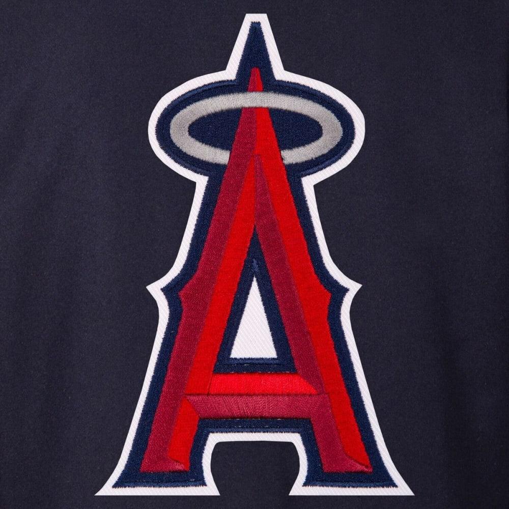 LOS ANGELES ANGELS Men's Reversible Wool Jacket - NAVY