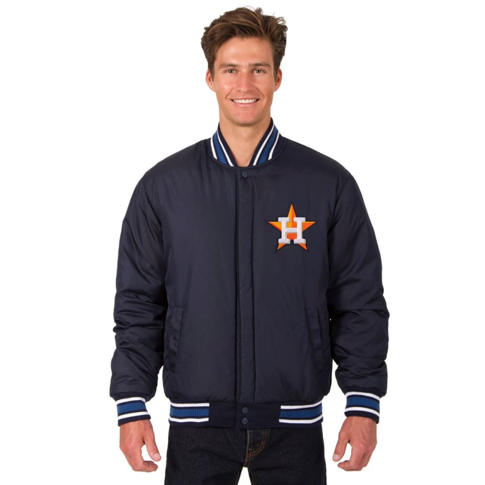 HOUSTON ASTROS Men's Reversible Wool Jacket - NAVY