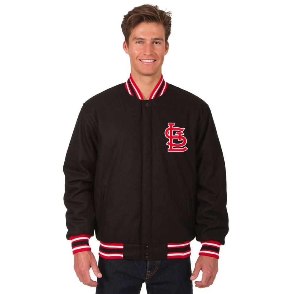 ST. LOUIS CARDINALS Men's Reversible Wool Jacket - NAVY