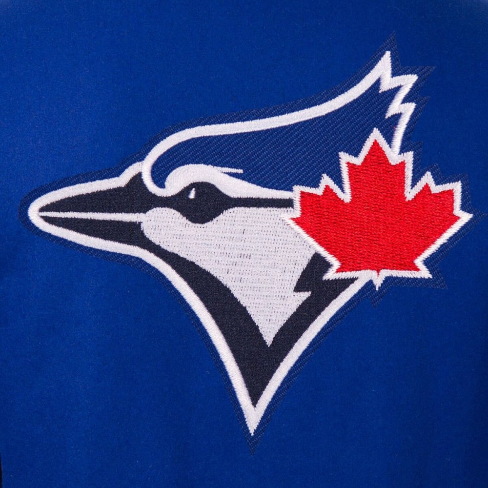 TORONTO BLUE JAYS Men's Reversible Wool Jacket - ROYAL