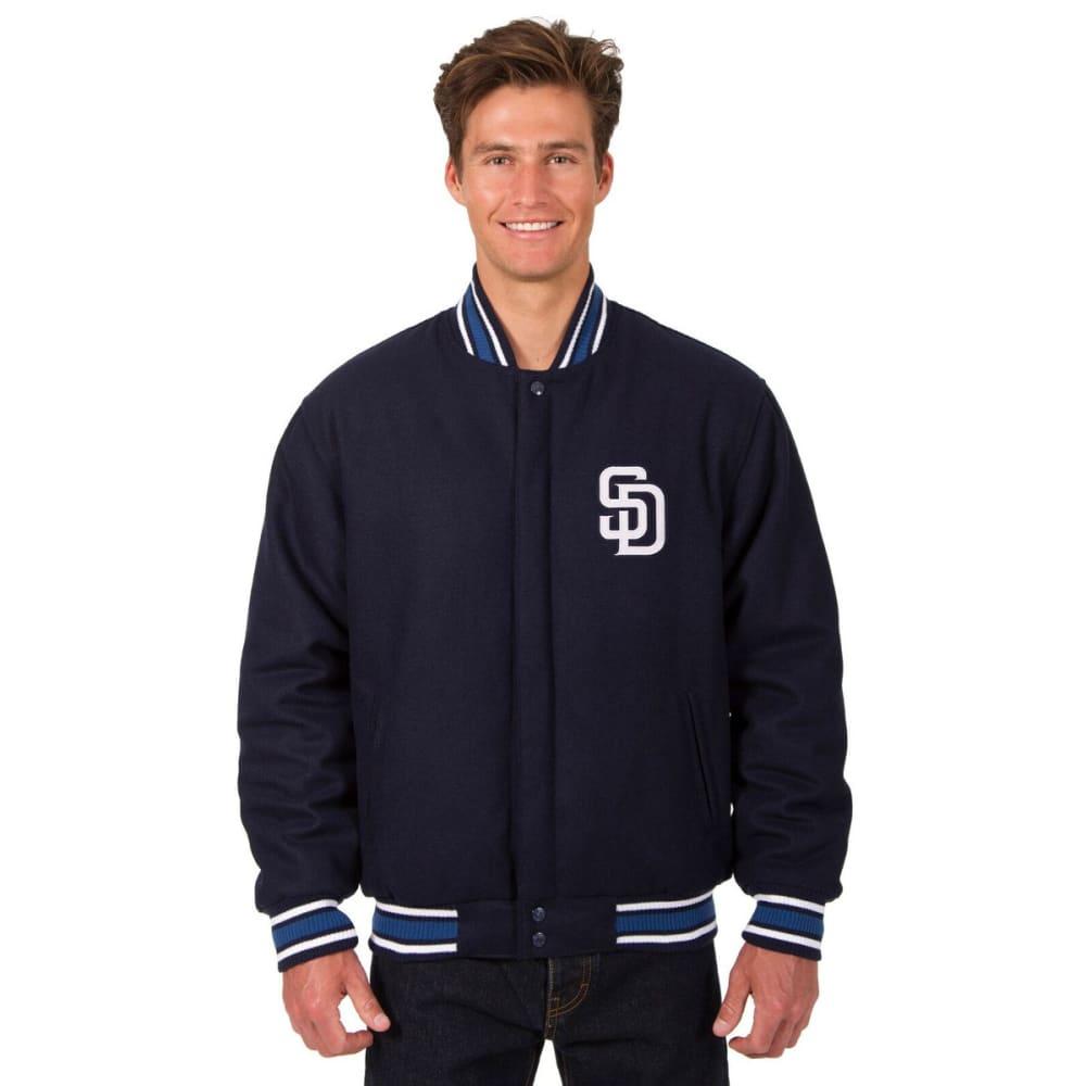 SAN DIEGO PADRES Men's Reversible Wool Jacket - NAVY
