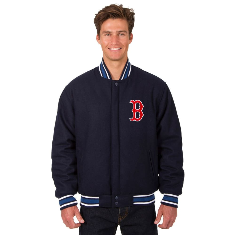 BOSTON RED SOX Men's Reversible Wool Jacket S