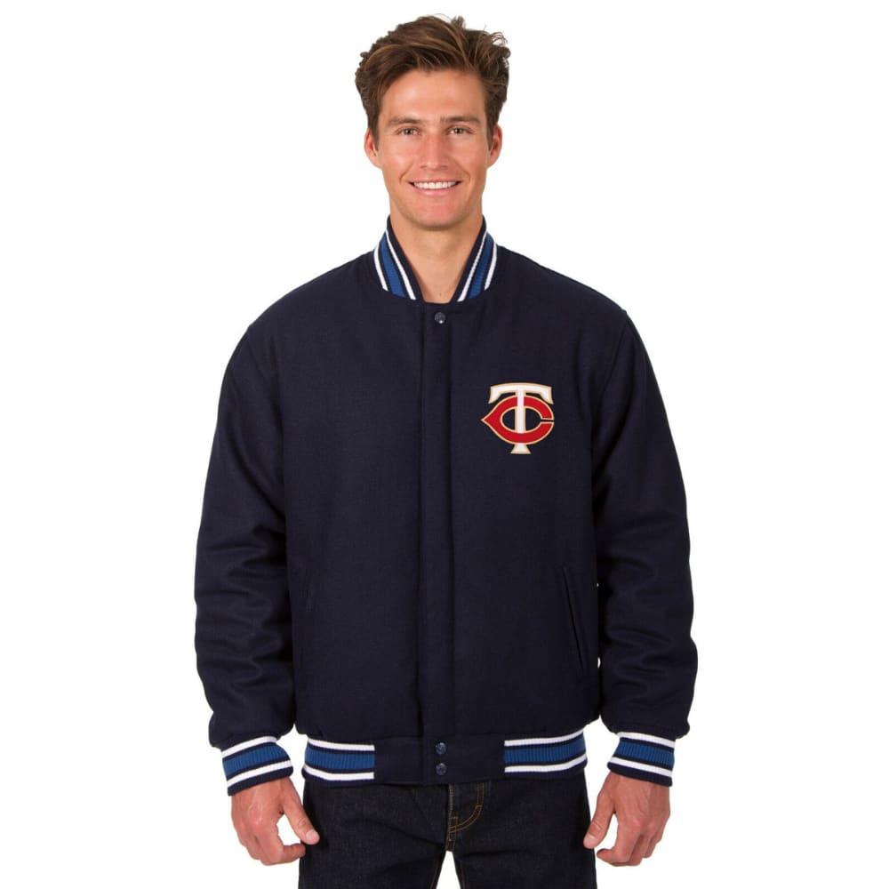 MINNESOTA TWINS Men's Reversible Wool Jacket S