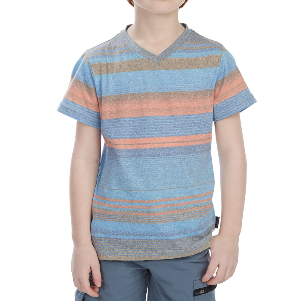 OCEAN CURRENT Little Boys' Action V Short-Sleeve Tee - VIVID BLUE