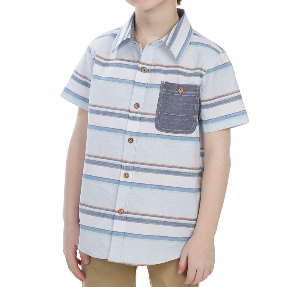 OCEAN CURRENT Little Boys' Mykonoa Poplin Woven Short-Sleeve Shirt - VENICE