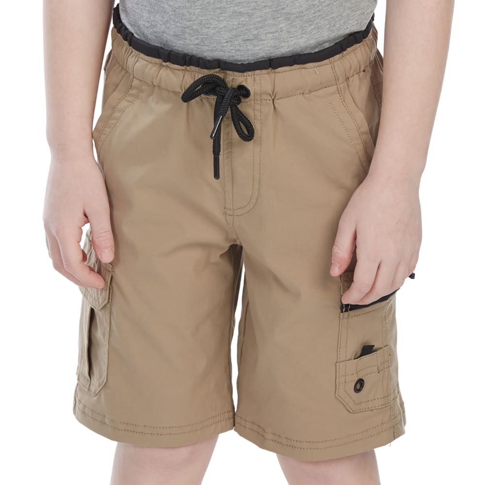 OCEAN CURRENT Little Boys' Midgar Shorts - SAND