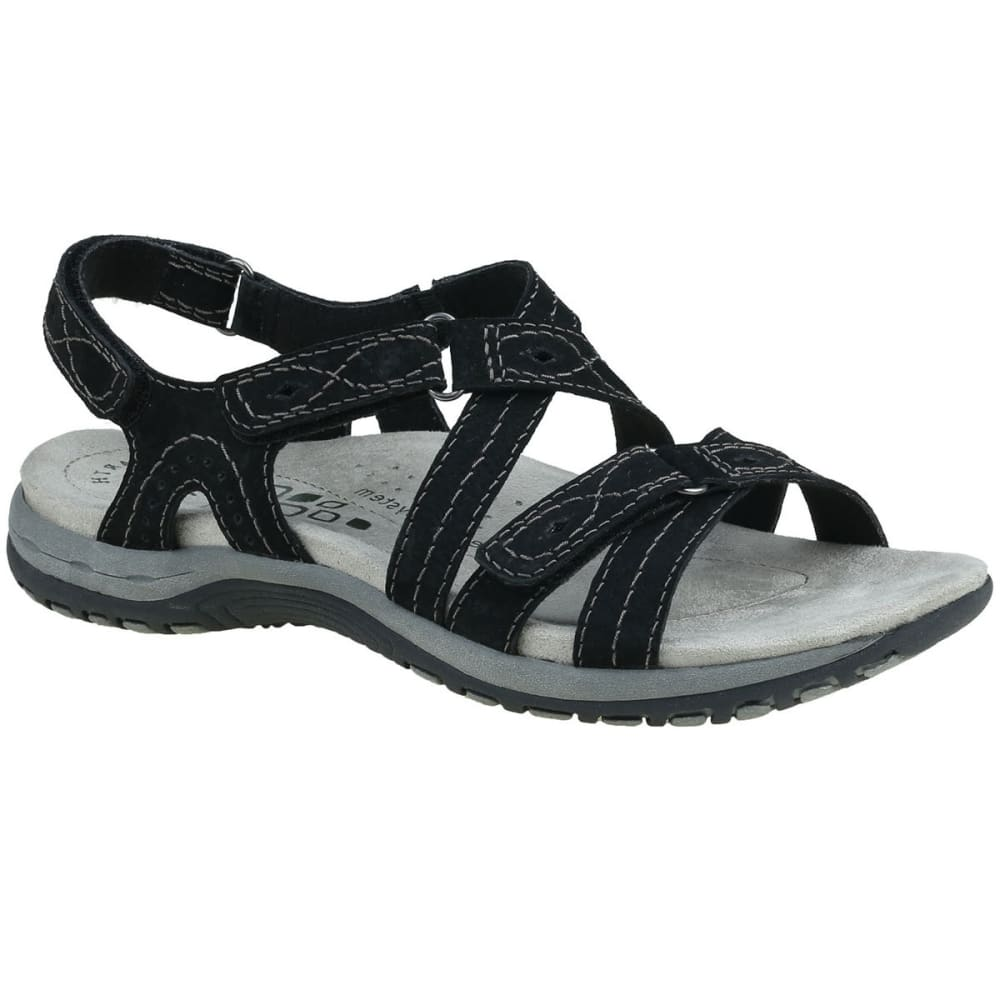 Earth Origins Women's Shane Sandals - Black, 6