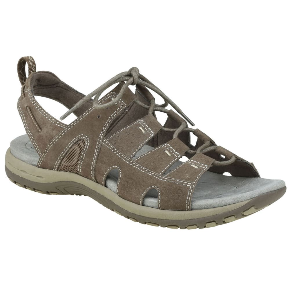 Earth Origins Women's Sassy Sandals - Brown, 6
