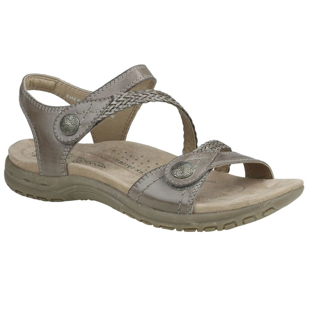 EARTH ORIGINS Women's Salina Sandals - TAUPE-286