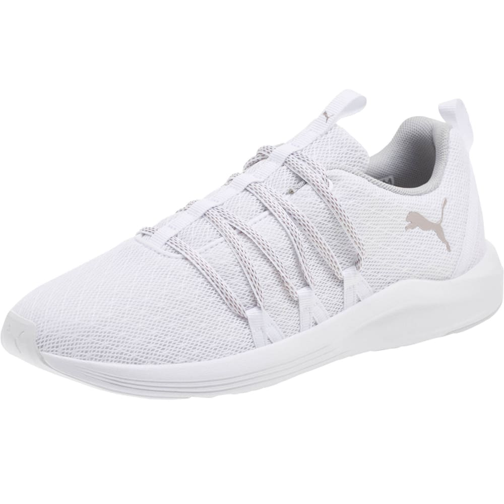 Puma Women's Prowl Alt Knit Running Shoes - White, 8
