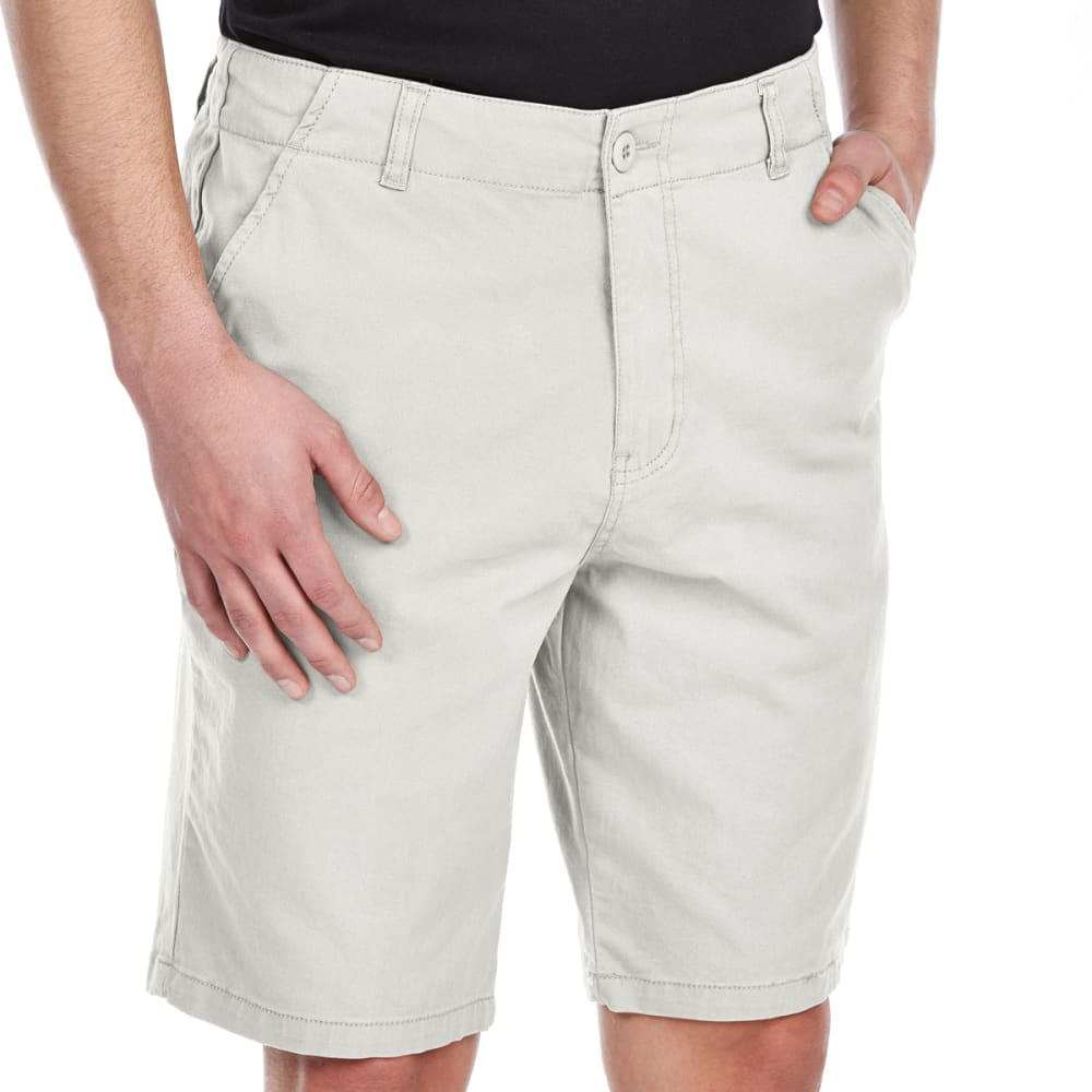 D55 Guys' Stretch Twill Flat Front Shorts 29