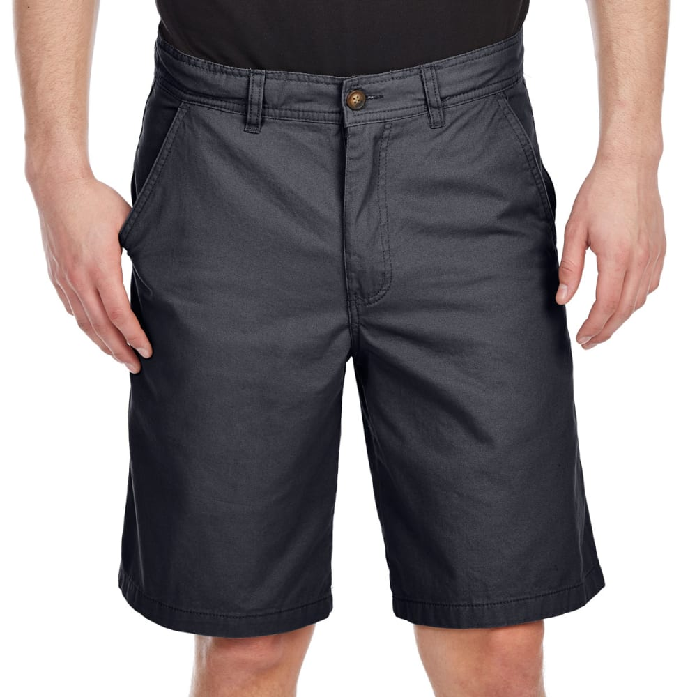 BCC Men's Flat Front Twill Shorts 32