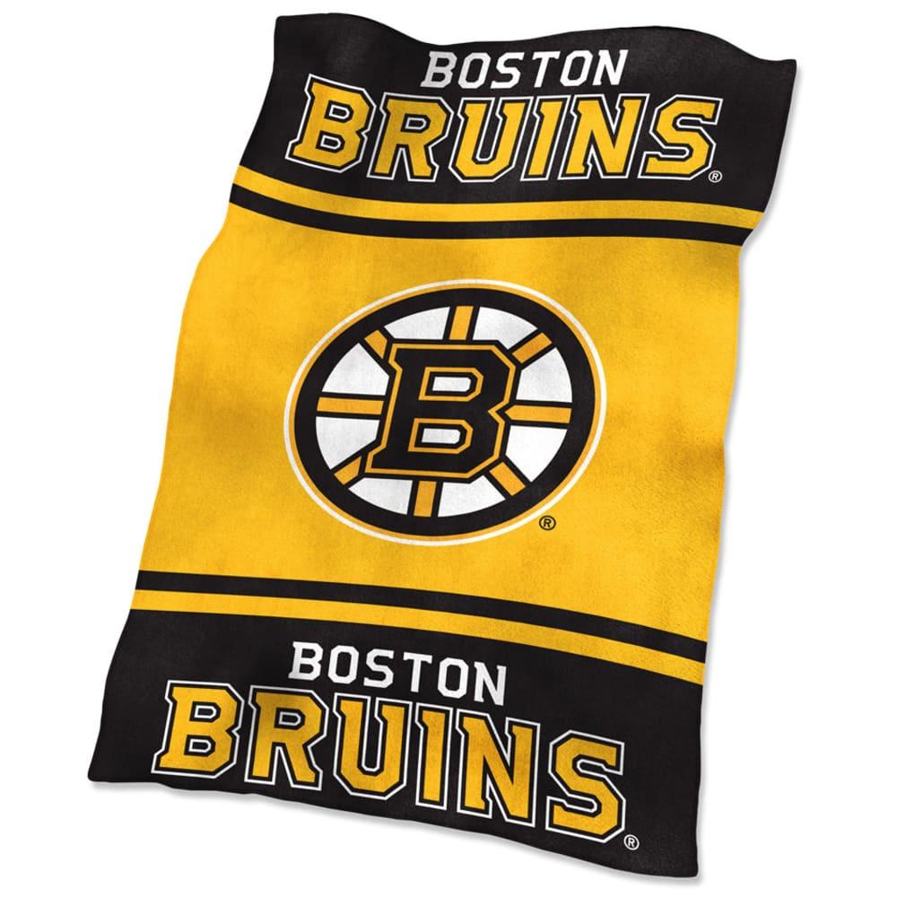BOSTON BRUINS UltraSoft Blanket - BLACK