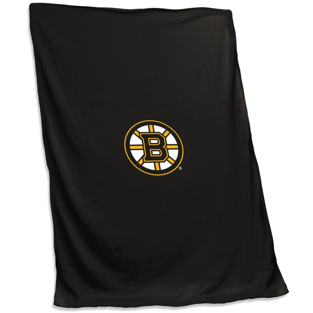 BOSTON BRUINS Sweatshirt Blanket - BLACK