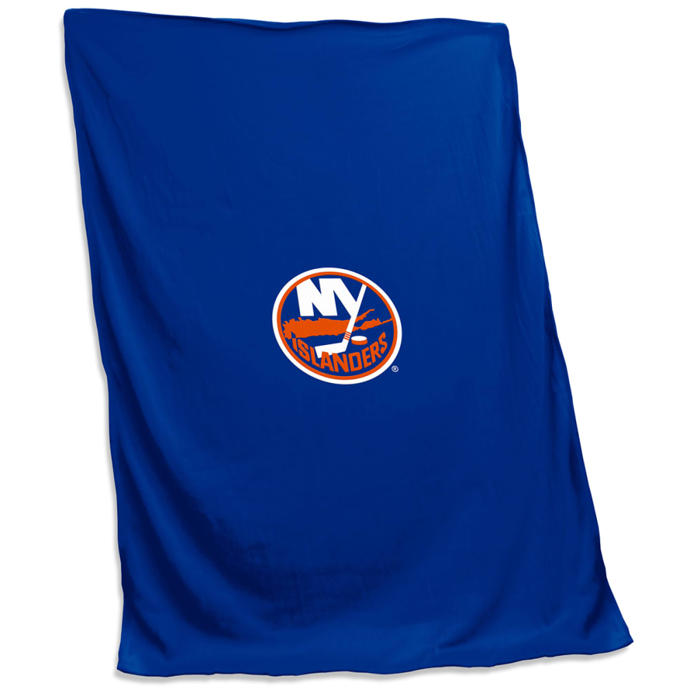 NEW YORK ISLANDERS Sweatshirt Blanket - ROYAL BLUE