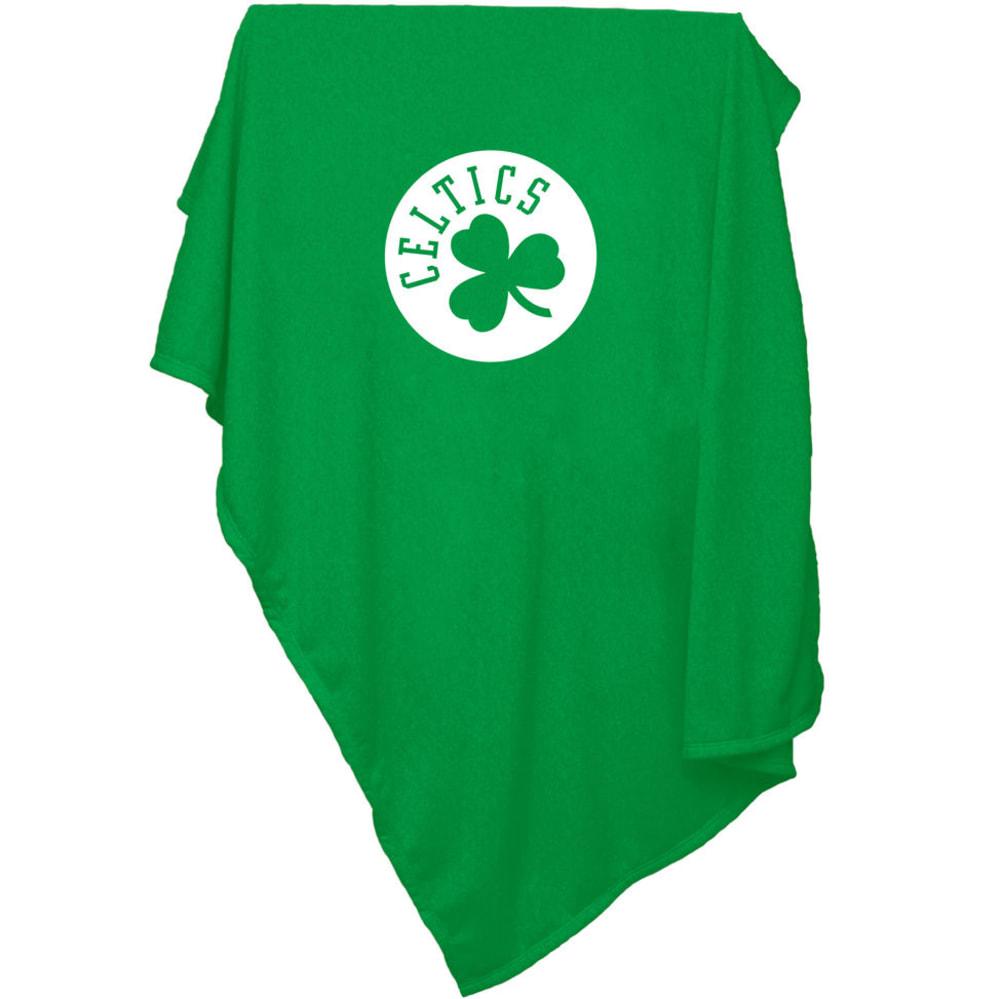 BOSTON CELTICS Sweatshirt Blanket - GREEN