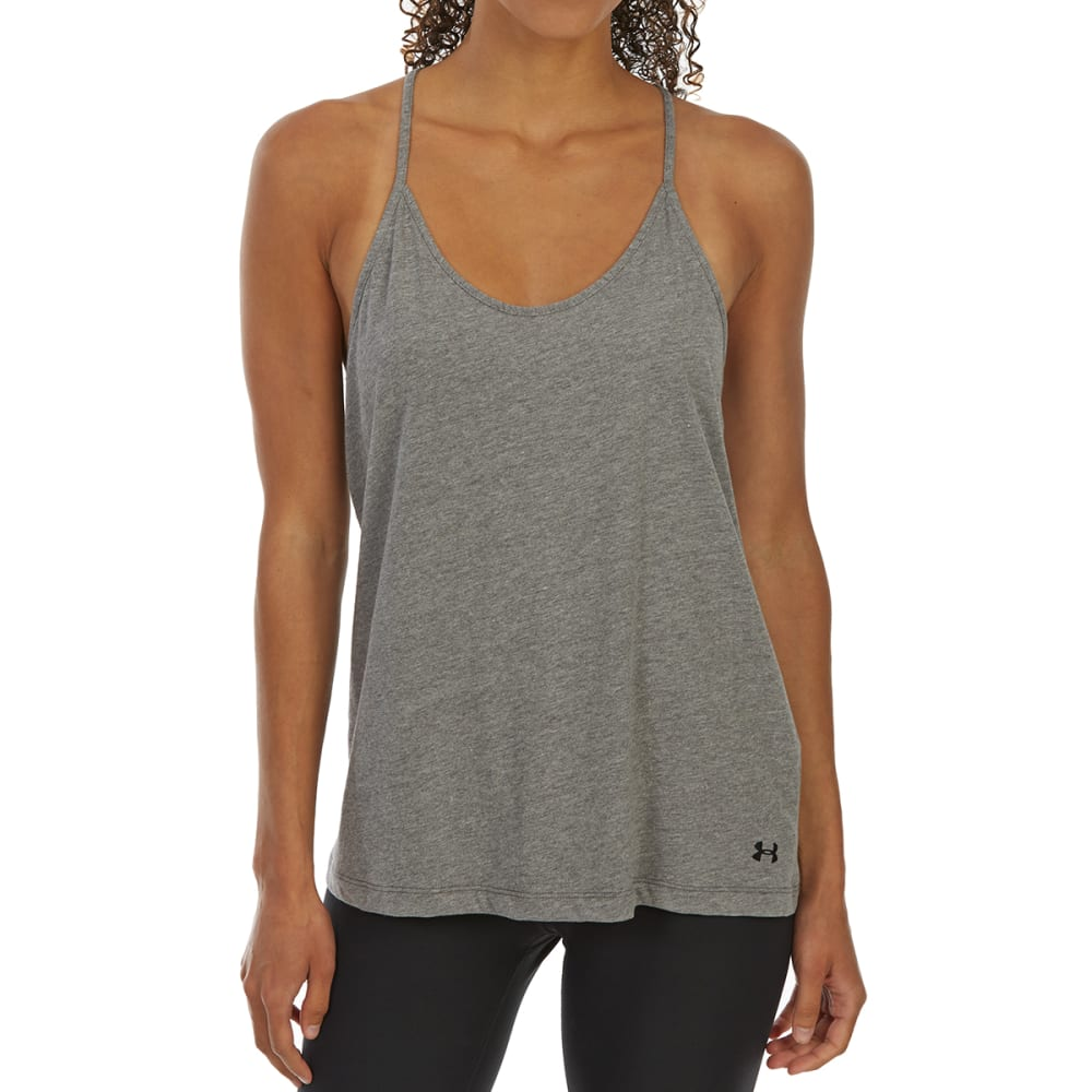 UNDER ARMOUR Women's Solid Fashion Tank - CBH-019