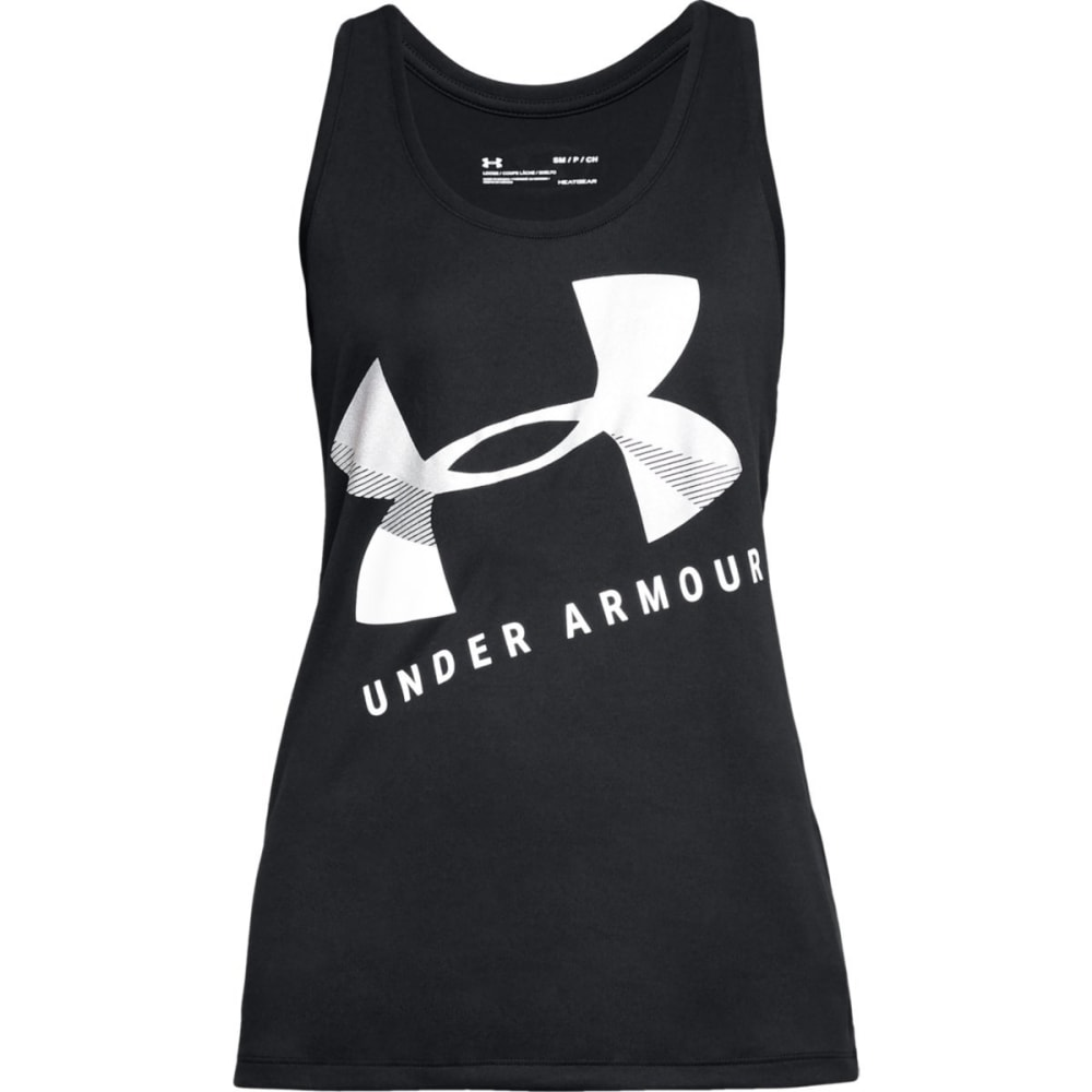 UNDER ARMOUR Women's Tech Graphic Tank S