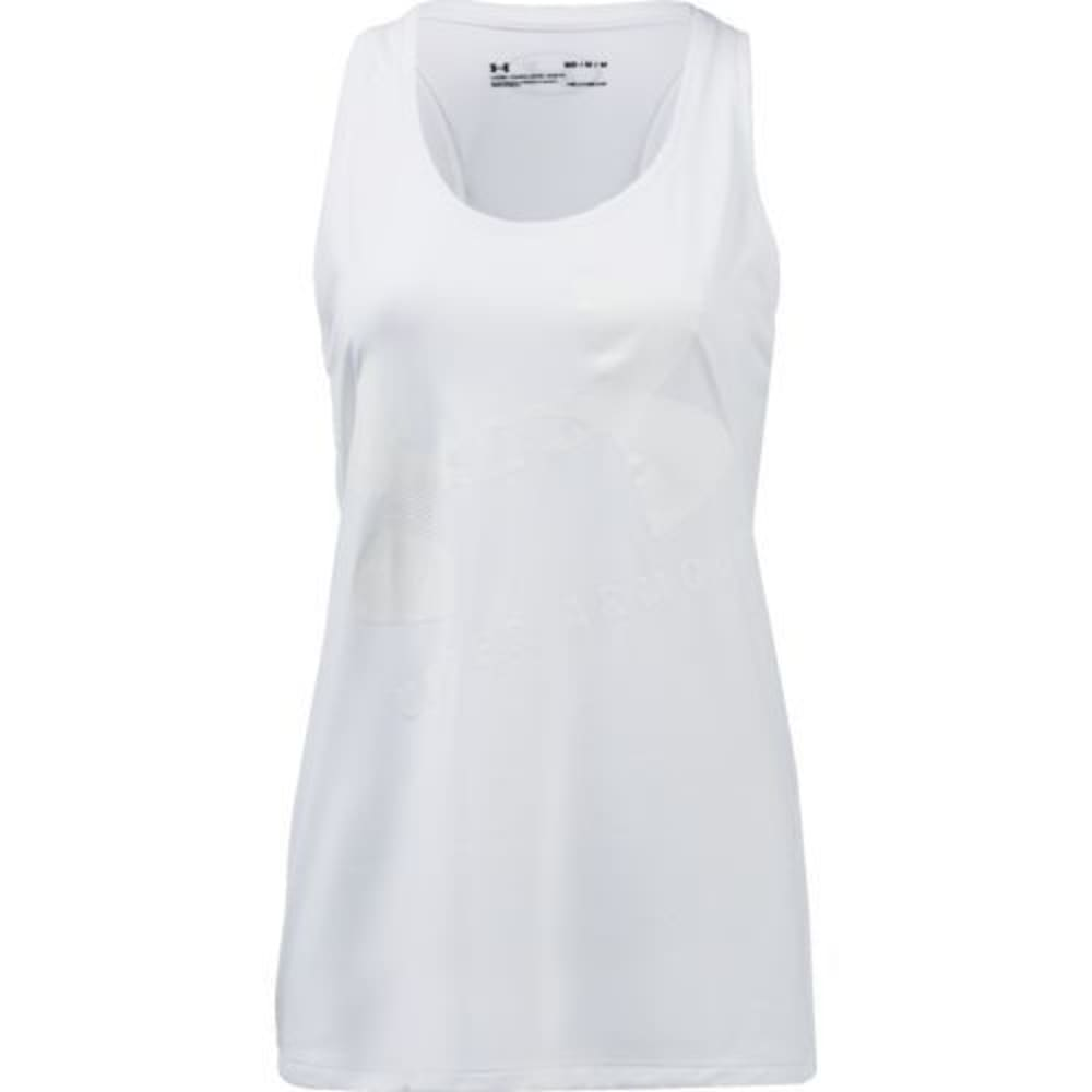 UNDER ARMOUR Women's Tech Graphic Tank L