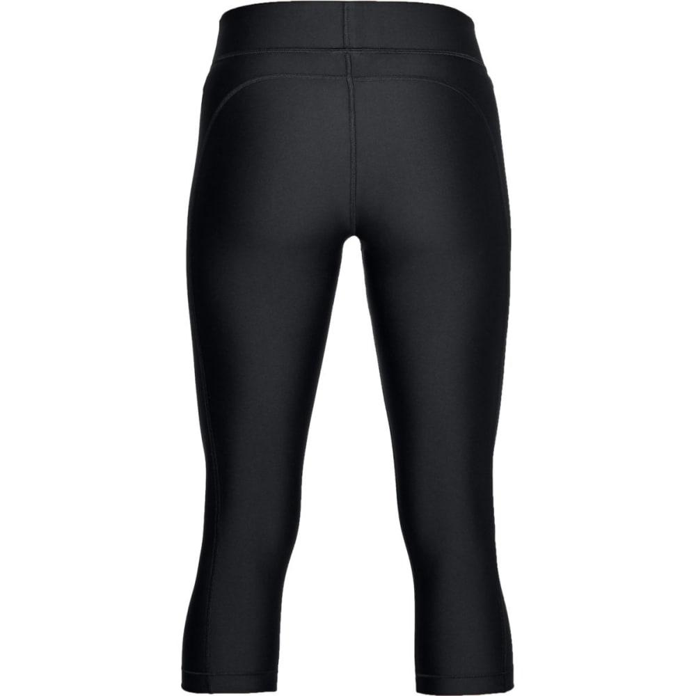 UNDER ARMOUR Women's HeatGear Armour Capri Leggings - BLACK-001