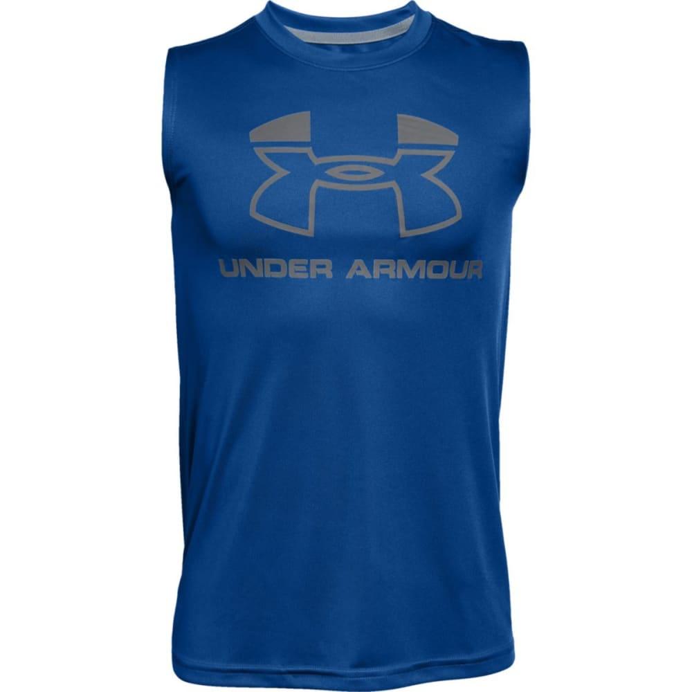 UNDER ARMOUR Big Boys' Logo Muscle Tee S