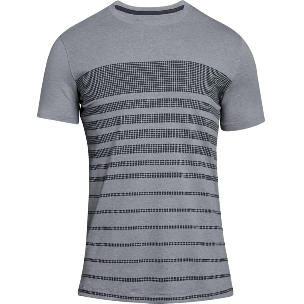 Under Armour Men's Ua Sportstyle Stripe Short-Sleeve Tee - Black, M